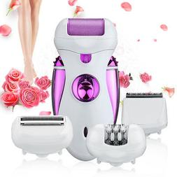 4 in 1 Electric Rechargeable Lady Women's Hair Removal Painl