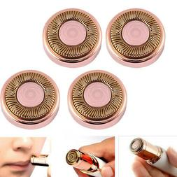 4pcs set hair remover replacement heads finishing
