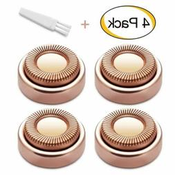 4PCS Replacement Heads for Hypoallergenic Finishing Touch Fl