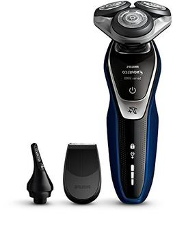 Philips Norelco Electric Shaver 5570 Wet & Dry, S5572/90, wi