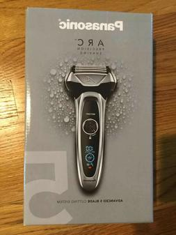 Panasonic Arc5 Electric Razor, Men's 5-Blade Cordless with S