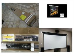 "120"" Electric Motorized Drop Down Projector Projection Scree"