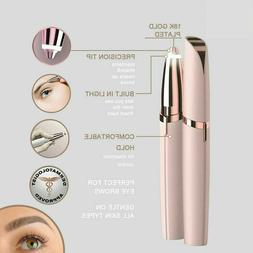 Electric Eyebrow Hair Remover for Flawless Brows | LED Light