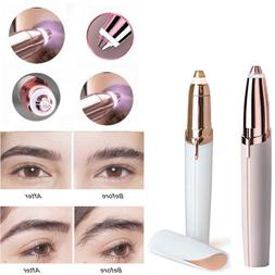 Electric Hair Remover Face Eyebrow Trimmer Brows Razor Facia