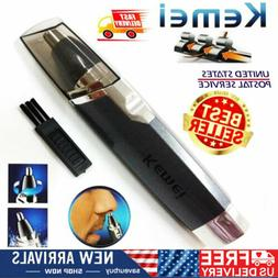 Electric Nose Trimmer Ear Hair Trimmer Removal Shaver Wet Dr