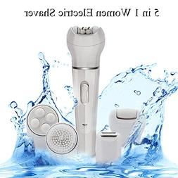 Epilators Women Electric Shaver In Rechargable Wet Dry Beaut