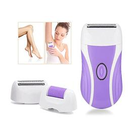 Epilator, Lady Shaver 3 In 1 Cordless USB Electric Epilator