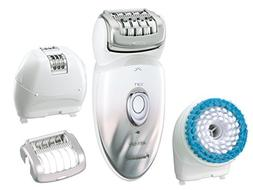 Panasonic Epilator & Exfoliation Brush for Hair Removal and