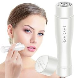Facial Hair Removal for Women, Laxcare Rose Gold Painless Fl
