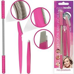 Facial Tweezers mustache Hair Removal Tool Set For Women Epi