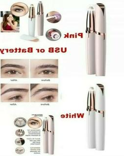 Flawless Brows Trimmer Electric Eyebrow Hair Removal With Bo