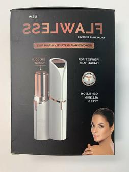 Flawless Womens LED Lighted Electric Facial Hair Remover - C