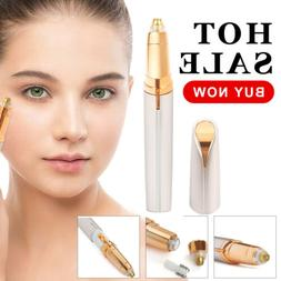 Hot Women Electric Brows Trimmer Razor Hair Remover Facial F