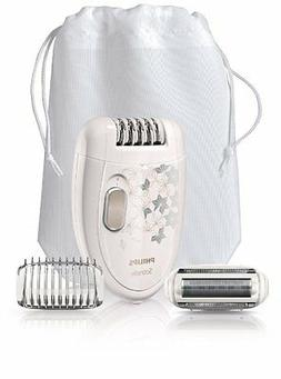 Philips HP6423/02 Satinelle Legs and Body Epilator with Shav