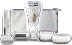 PHILIPS HP6576 Satin Perfect RECHARGEABLE Ladies Epilator Bo