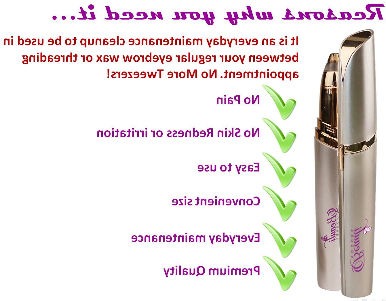 1 Eyebrow For-Flawless Hair Remover