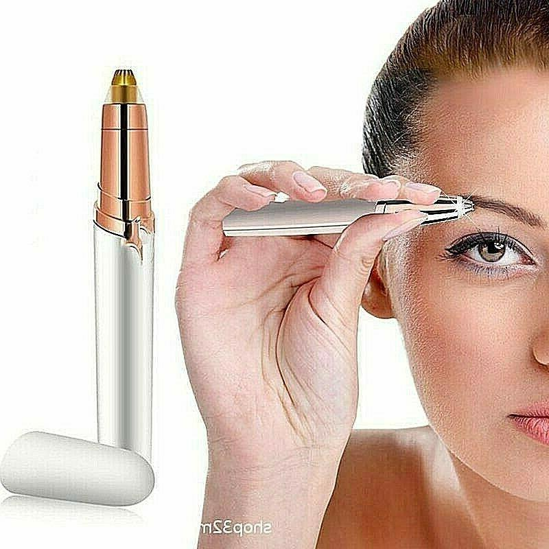 1 electric eyebrow trimmer for flawless hair