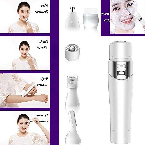 Y-XM Epilator Kit Charger Hair Remover Wet Man Woman