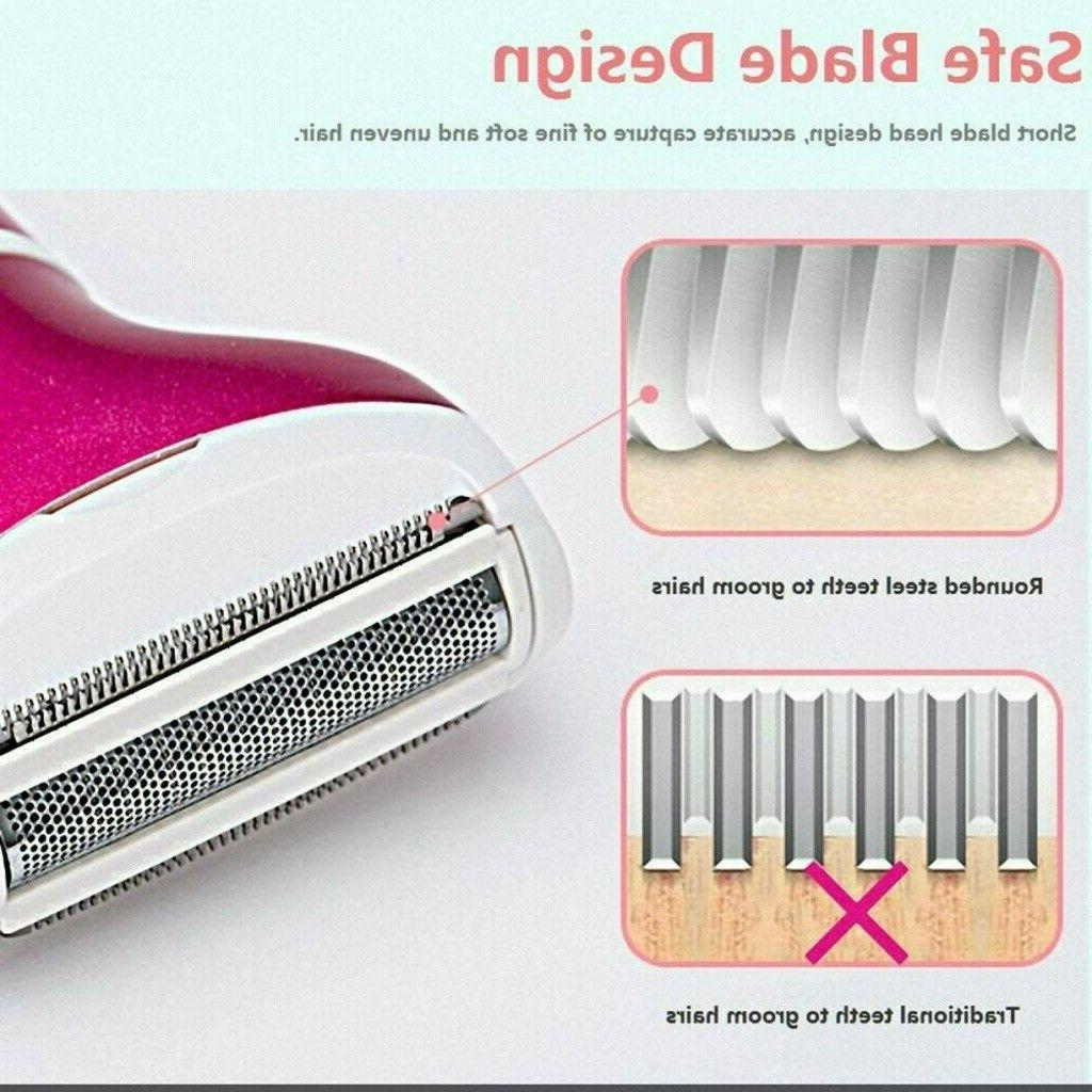 4 Women Electric Removal Body Hair Shaver