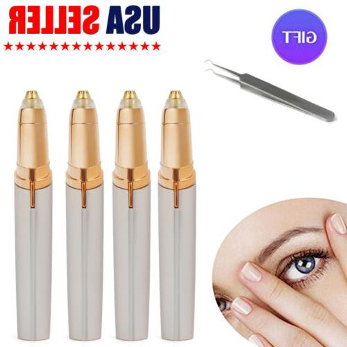 4 pack electric brows trimmer razor hair