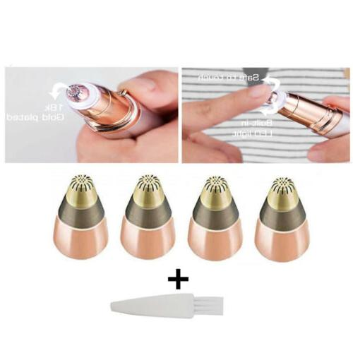 4 PCS Heads For Flawless Touch Brows Trimmer