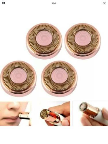 4x Flawless Facial Hair Remover Replacement Blade Epilator Finishing