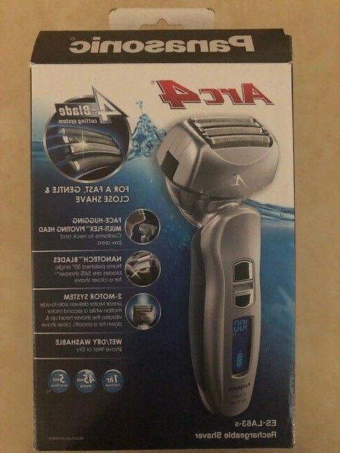 Panasonic Arc4 Electric Razor, Men's 4-Blade Cordless with W