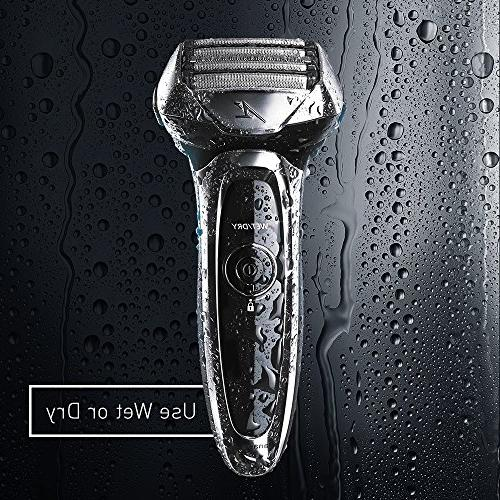 Panasonic Men's Shave Sensor Technology Wet/Dry Convenience,