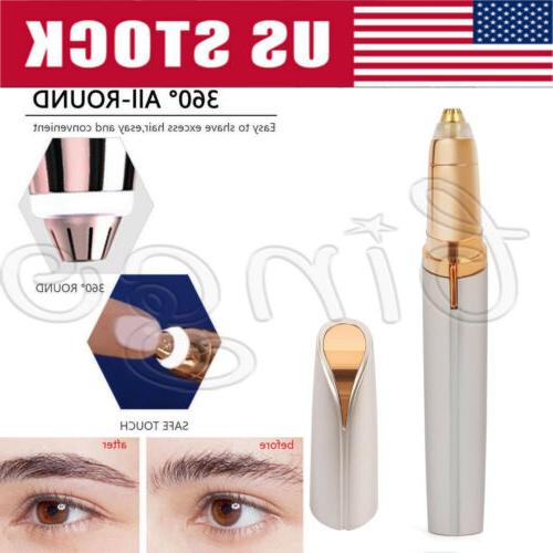 electric brows remover razor face eyebrow trimmer