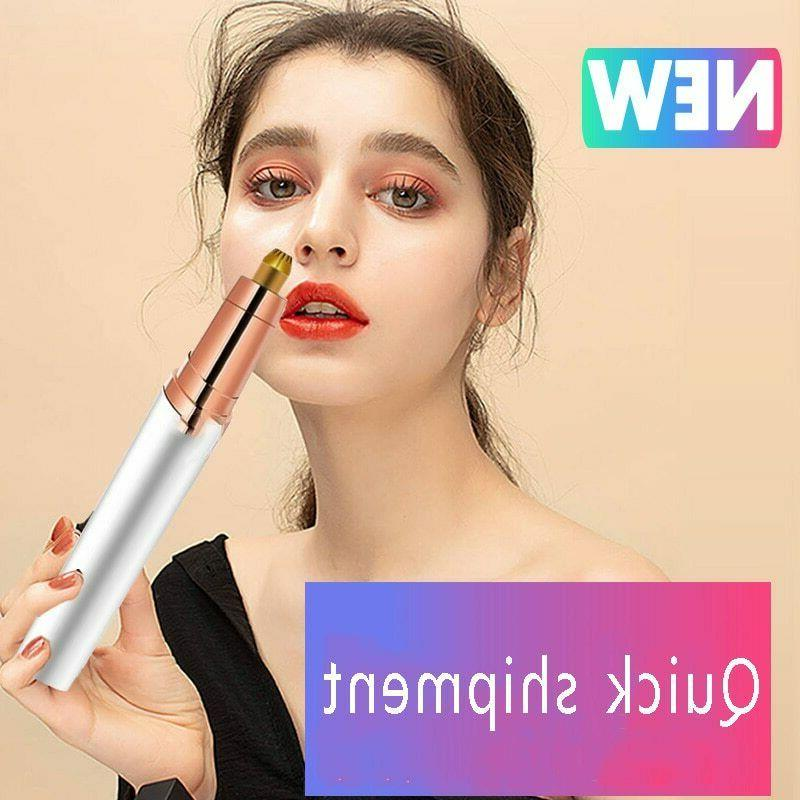 Electric Eyebrow Trimmer For-Flawless Hair Removal LED Light