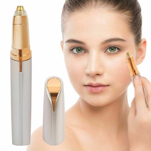 Electric Eyebrow Trimmer Facial Painless