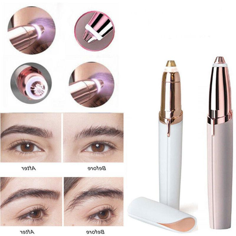 electric hair remover face eyebrow trimmer brows
