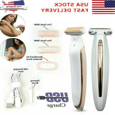 electric new total body hair remover finishing