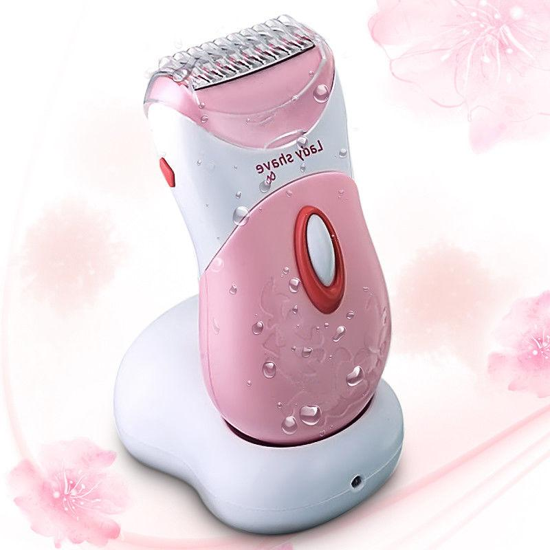 electric rechargeable lady shaver epilator 3 blade