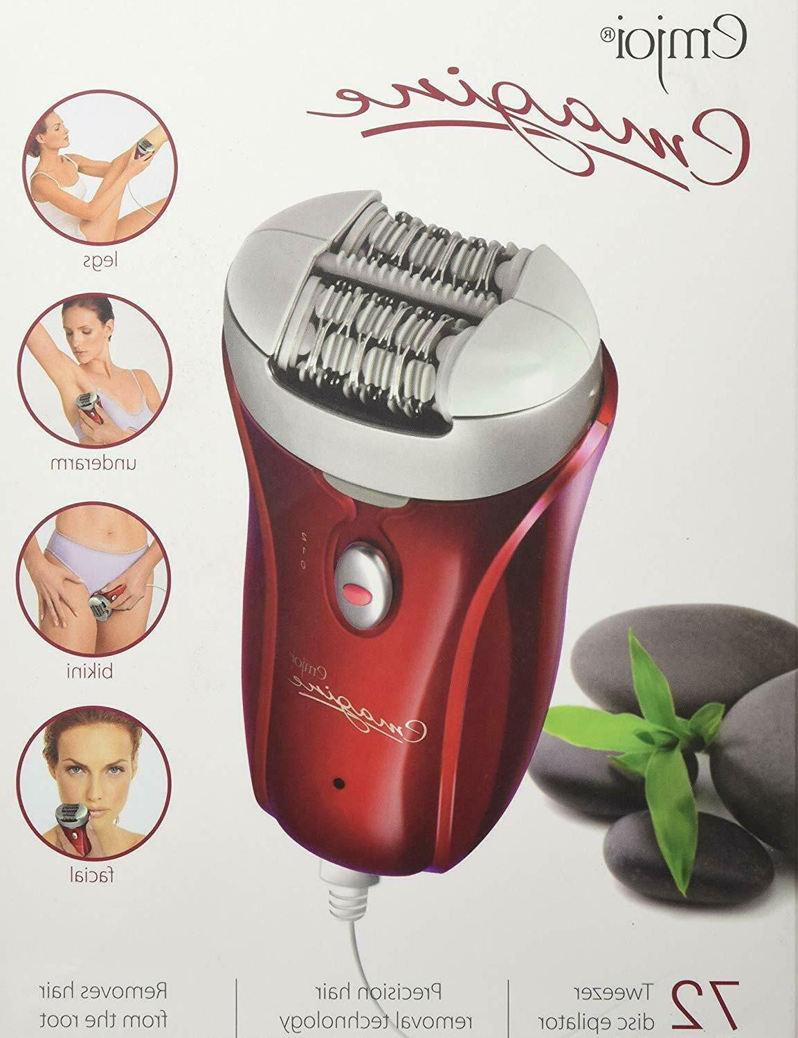 Emjoi Women 72 Epilator - Shipping USA