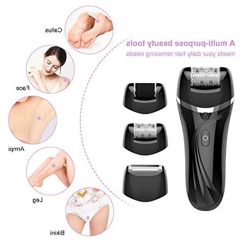 Epilator For Hair, Facial For Women With Heads, and Callus With USB