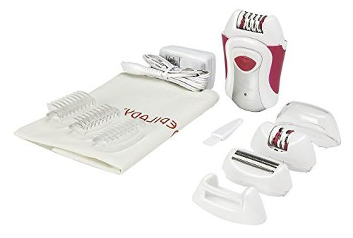 europa wet dry rechargeable epilator