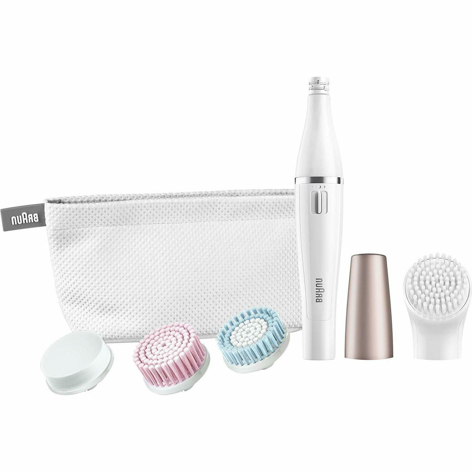 facespa facial epilator cleansing brush