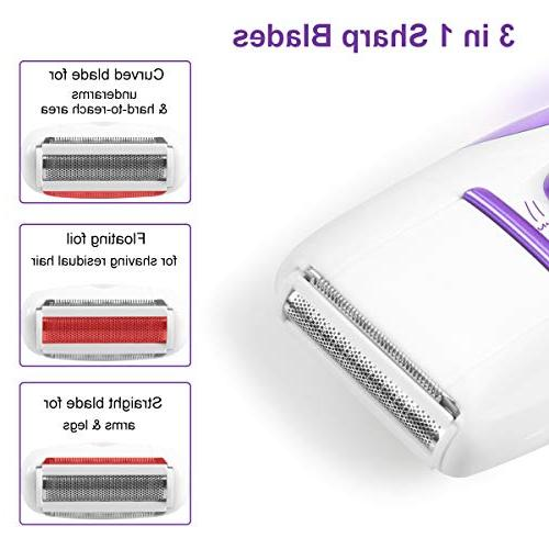 Facial Women, Toeeson Hair Interchangeable Heads, Hair Epilator Shaver Callus Remover For Women