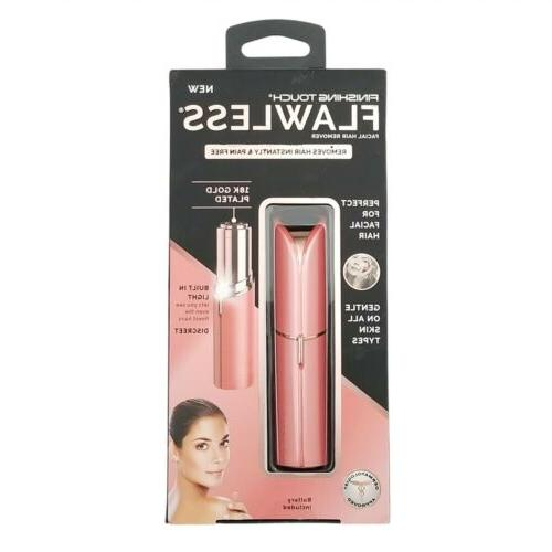Finishing Touch Flawless Pink Pain Free Facial Hair Remover