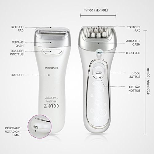 for Facial Epilator F230 Rechargeable Women's Razor and Hair Lady Wet Use