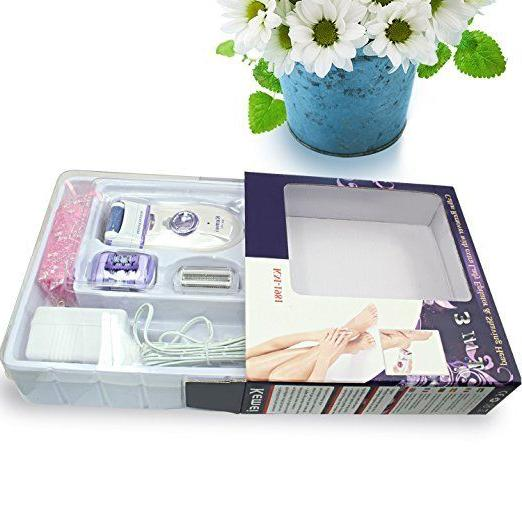 New 3in1 For Women Callus Hair Removal Shaver