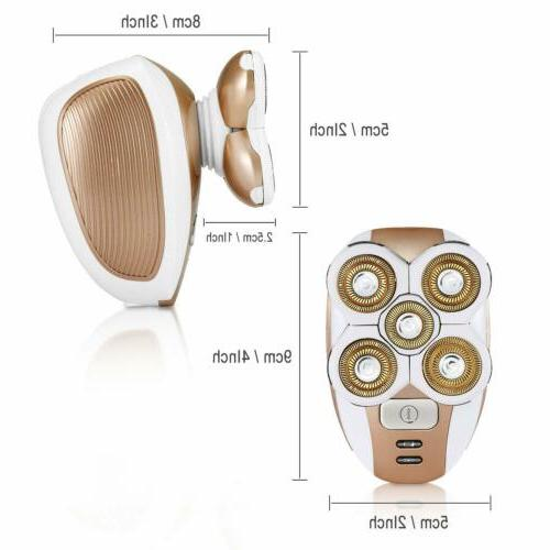 Painless Remover Waterproof Electric Removal Body Epilator