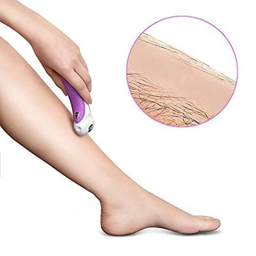 Alayna 4-in-1 Epilator, Lady Shaver, Callus Remover and Exfoliates Dead Safe Removal for Women