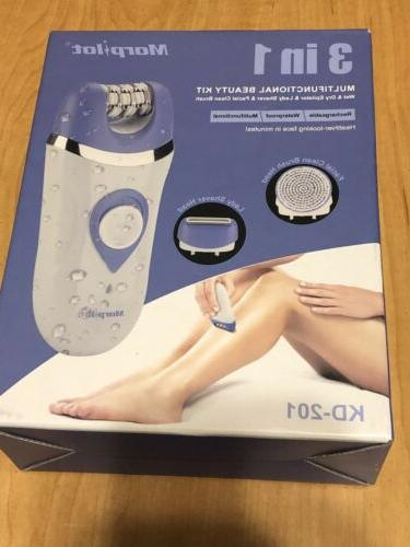 rechargeable hair removal system epilator and shaver