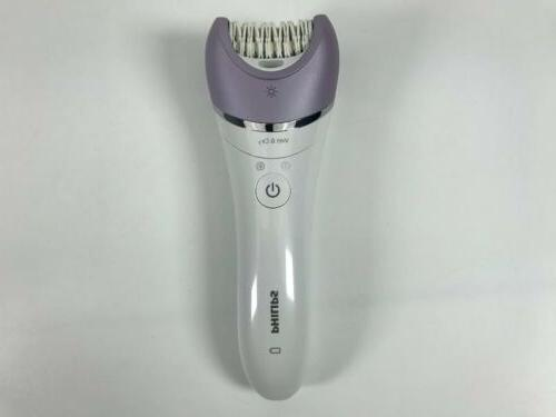 Philips Satinelle Advanced Cordless Epilator BRE615 OPEN