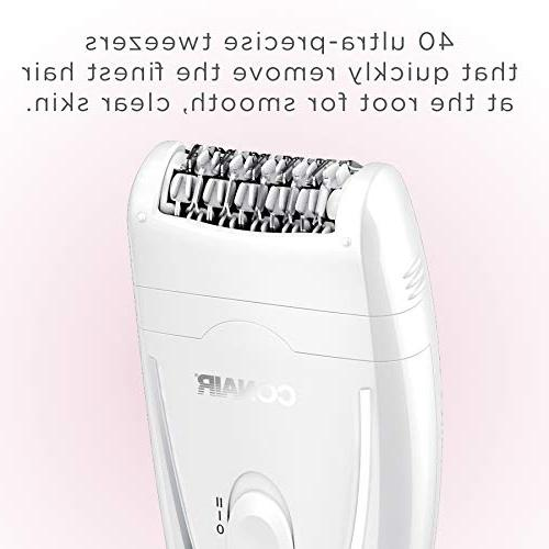 Conair Satiny Smooth Body Removal System, 40 Head Cordless/Rechargeable
