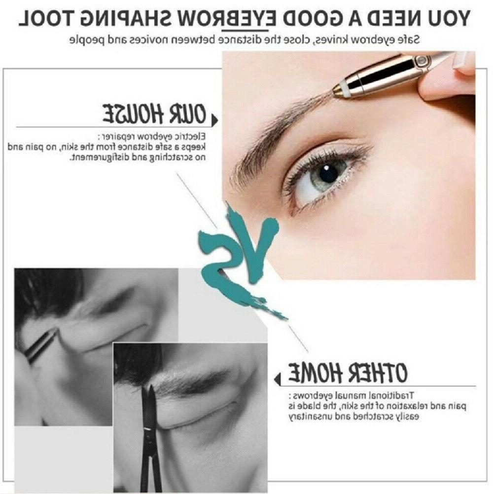 Women Electric Brows Razor Remover Face