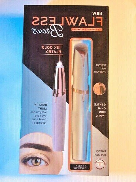 Womens Brow Trimmer Painless LED