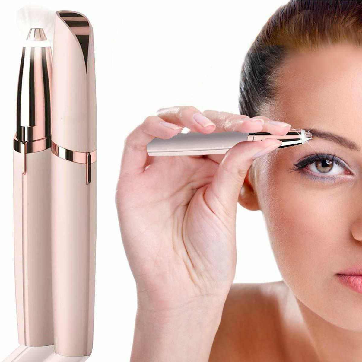 womens flawless brow trimmer painless eyebrow hair